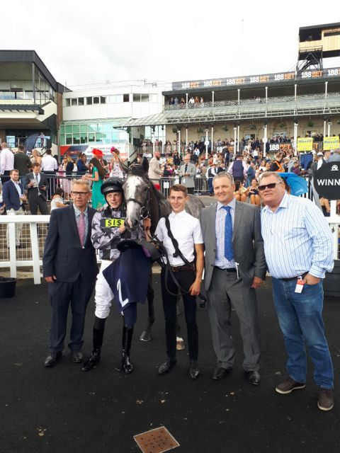 641355663b2 Earlier on the card apprentice Meghan Nicholls guided International Man to  victory as part of the Lady Riders Silk Series. He enjoyed the step up in  trip ...