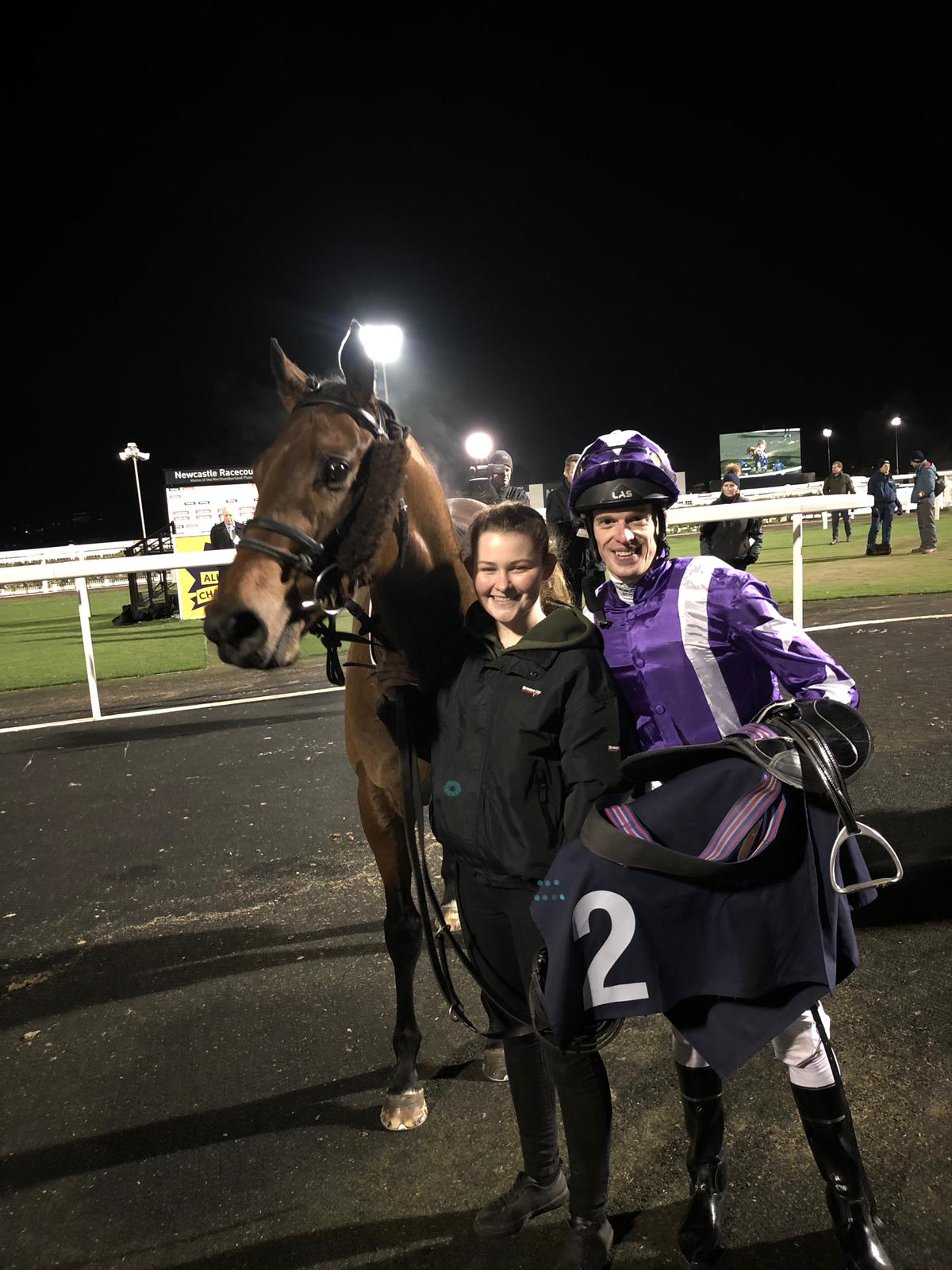 f1284acb39b He was clear entering the final furlong and stayed on strongly to win by two-and-three-quarter-lengths.  He looks a nice prospect this year for owner Alan ...